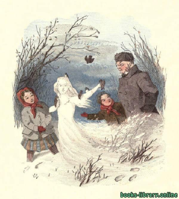 ❞ قصة The Snow Image: A Childish Miracle by Nathaniel Hawthorne ❝  ⏤ Nathaniel Hawthorne