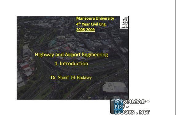❞ كتاب Highway and Airport Engineering ❝  ⏤ شريف مسعود