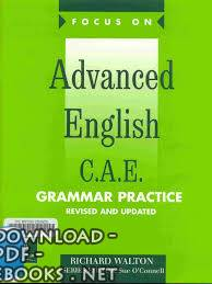 ❞ كتاب Advanced English- C.A.E Grammar Practice ❝