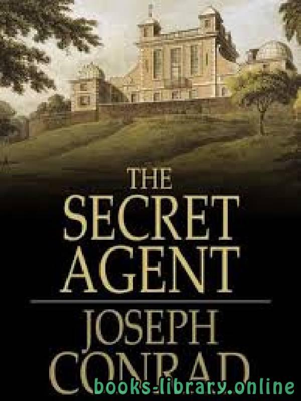 ❞ رواية The Secret Agent ❝  ⏤ Joseph Conrad