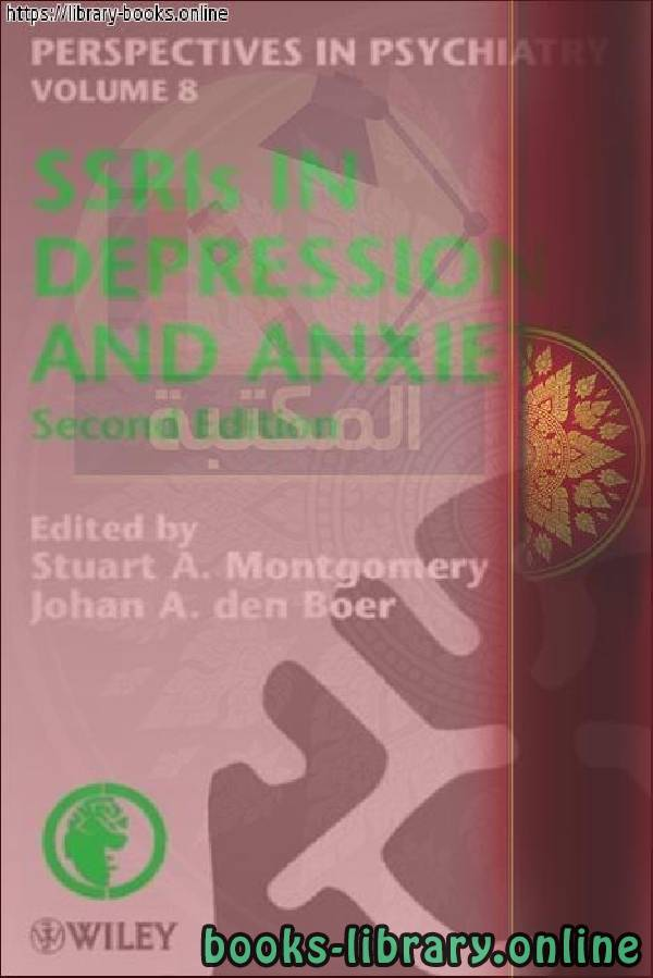 ❞ كتاب Perspectives in Psychiatry in Depression and Anxiety ❝  ⏤ John Wiley & Sons