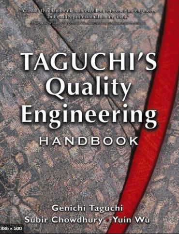 ❞ كتاب Taguchi's Quality Engineering Handbook: Chapter 30 One‐Way Layout ❝  ⏤ Genichi Taguchi