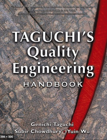 ❞ كتاب Taguchi's Quality Engineering Handbook: Case 88 Application of On‐Line Quality Engineering to the Automobile Manufacturing Process ❝  ⏤ Genichi Taguchi