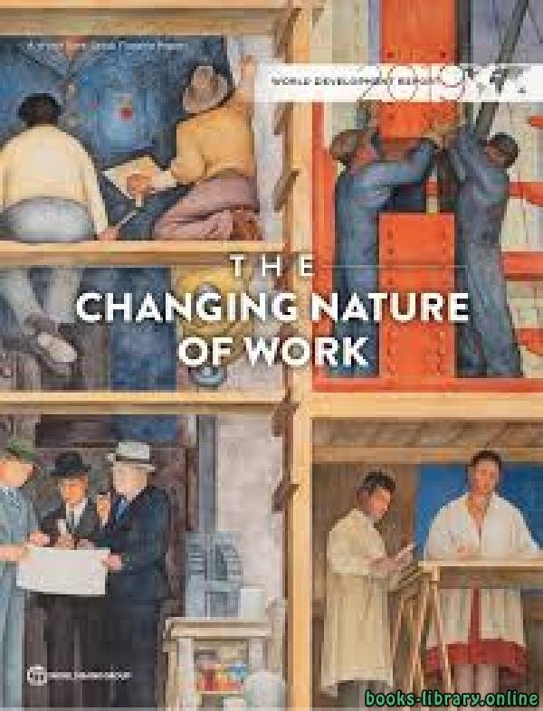 ❞ كتاب T H E CHANGING NATURE OF WORK ❝  ⏤ تشونغ نجوين