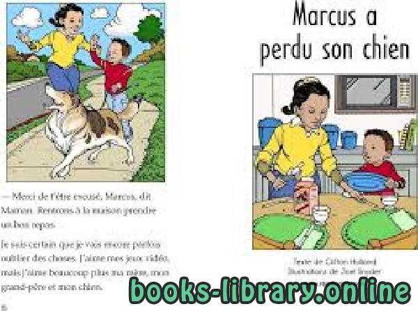❞ كتاب Marcus a perdu son chien ❝  ⏤ كاتب غير محدد