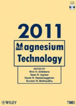 ❞ كتاب Magnesium Technology 2011: Effect of Adding SiO2‐Al2O3 Sol into Anodizing Bath on Corrosion Resistance of Oxidation Film on Magnesium Alloy ❝  ⏤ ويم هـ. سيليكنز