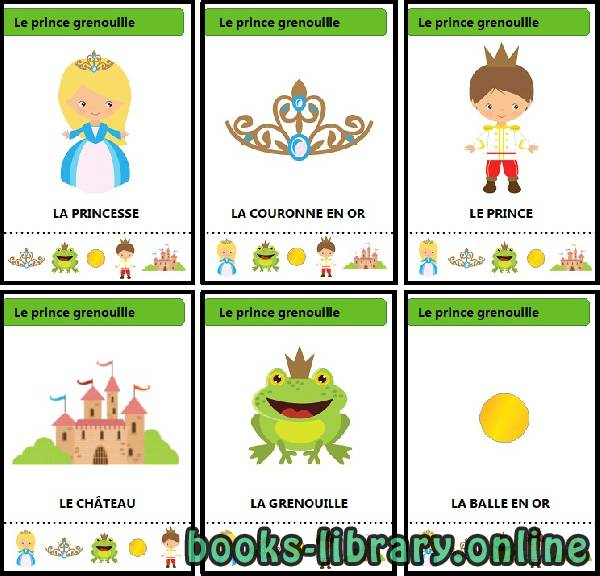 كتاب Jeu-des-7-familles-contes-traditionnels-Le-prince-grenouille