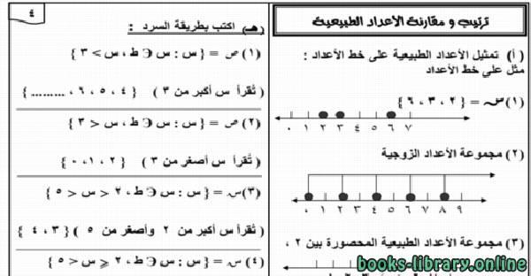 ❞ كتاب  مذكرة الرياضيات للصف الخامس الابتدائي ترم ثاني 2019 مستر طارق عبد الجليل ❝