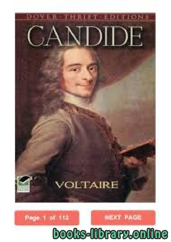 ❞ قصة Candide ❝  ⏤ Voltaire
