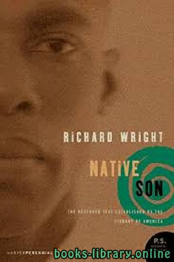 ❞ رواية Native Son ❝  ⏤ Richard Wright