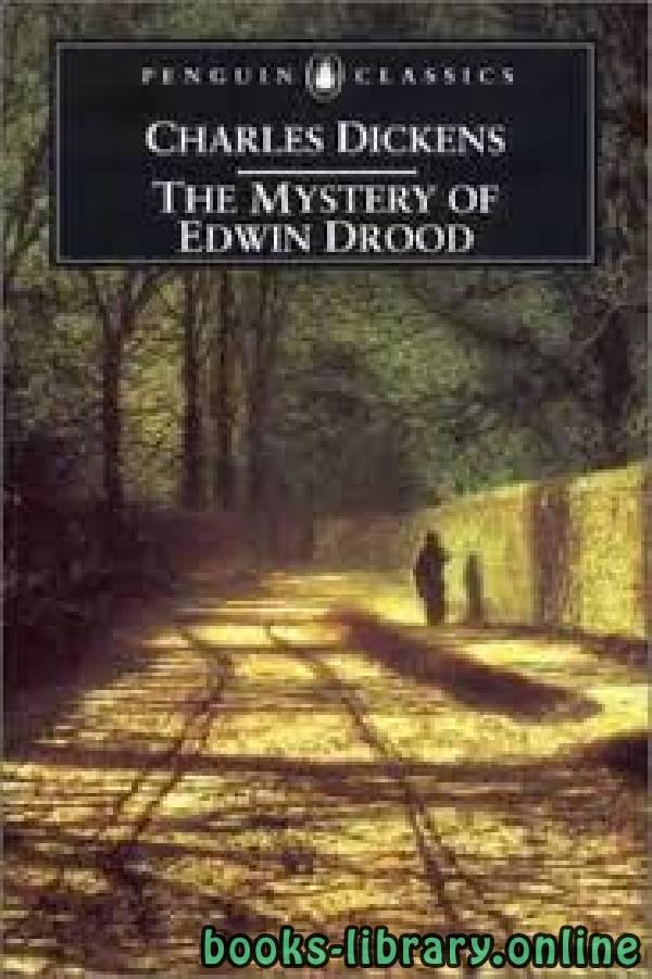 ❞ رواية The Mystery of Edwin Drood ❝  ⏤ Charles Dickens