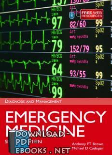 ❞ كتاب Emergency Medicine ❝  ⏤ انتوني أف تي براون