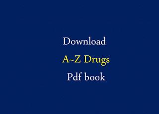 ❞ كتاب a-z drugs ❝