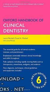 ❞ كتاب Oxford Handbook of Clinical Dentistry Sixth edition ❝