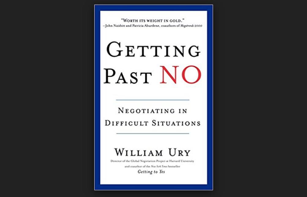 ❞ كتاب ملخص كتاب فن التفاوض ❝  ⏤ وليم يورى