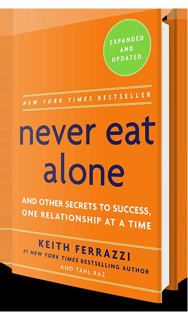 ❞ كتاب ملخص كتاب لا تأكل بمفردك ❝  ⏤ كيث فيرازي