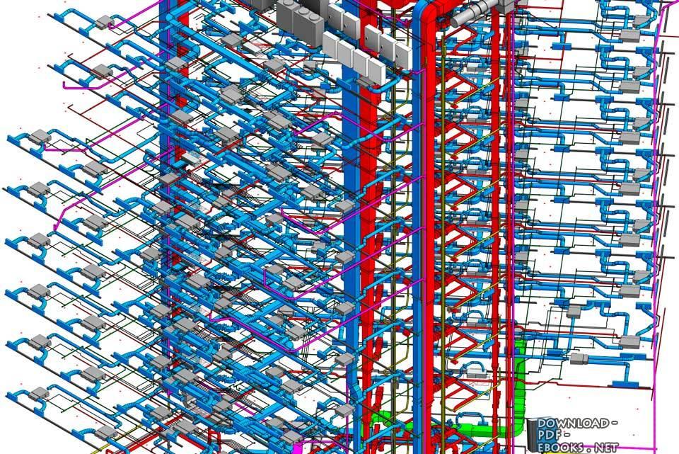 استخدام تقنية )BIM )لنمذجة خدمات المباني