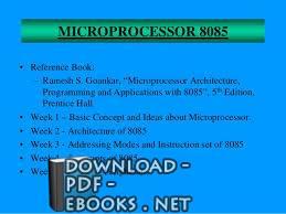 ❞ كتاب micro processor book ❝