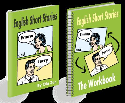 كتاب English Short Stories Emma & Jerry قصص قصيرة الإنجليزية إيما وجيري pdf