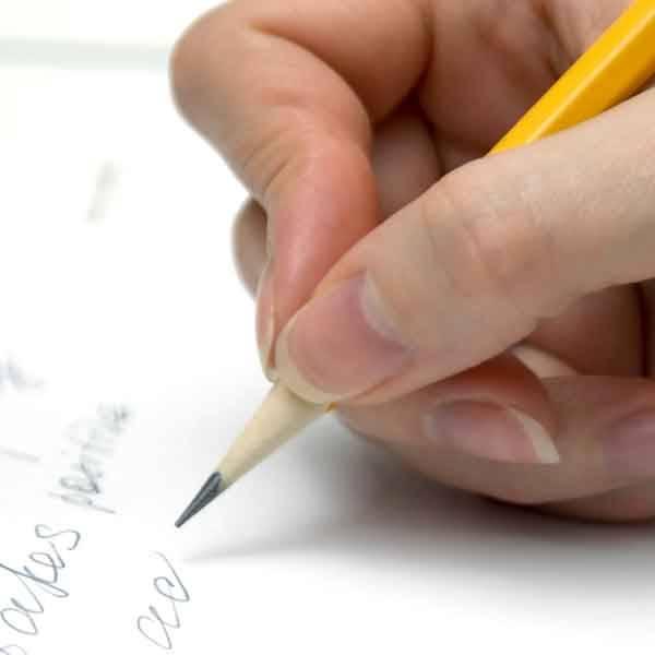 كتاب student writing