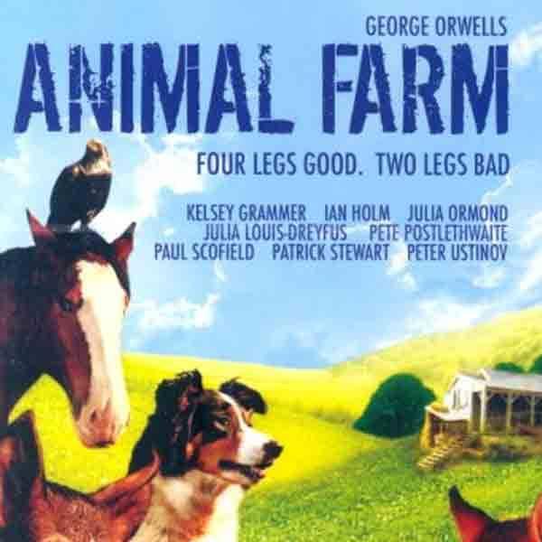 ❞ قصة كتاب مزرعة الحيوان ❝  ⏤ جورج أورويل