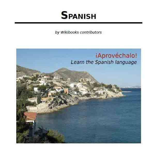 كتاب SPANISH by Wikibooks contributors pdf