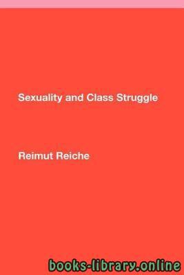 ❞ كتاب النشاط الجنسي وصراع الطبقات ❝
