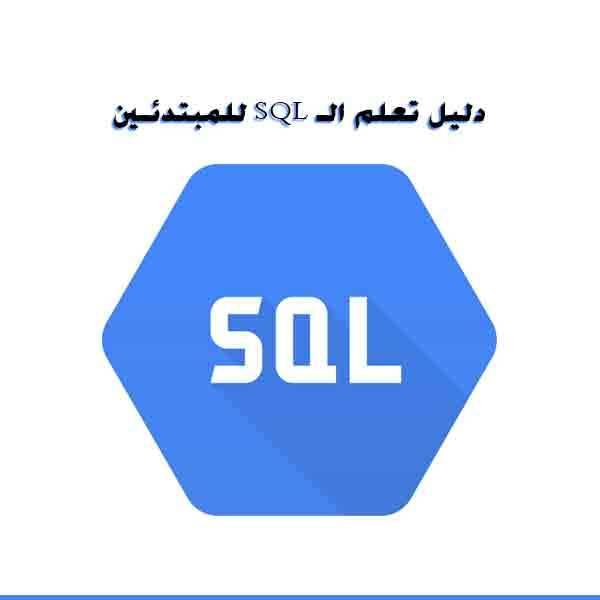 ❞ كتاب دليل تعلم الـSQL للمبتدئين  ❝