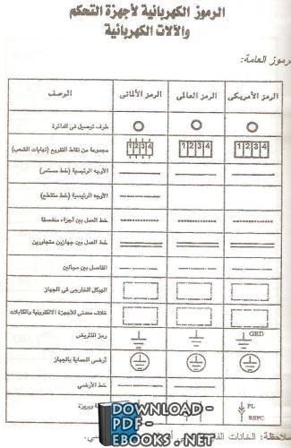 كتاب رموز كهربائية