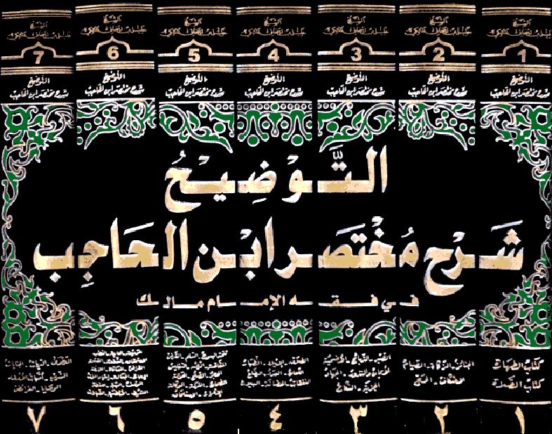 ❞ كتاب  التوضيح شرح مختصر ابن الحاجب (ط. العلمية) ❝  ⏤ خليل بن إسحاق الجندي