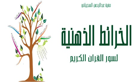 كتاب  الخرائط الذهنية لسور القرآن الكريم