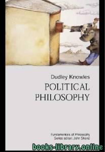 قراءة و تحميل كتاب Political Philosophy - Dudley Knowles text 16 PDF