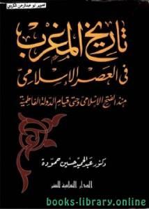 قراءة و تحميل كتاب  تاريخ المغرب في العصر الإسلامي منذ الفتح الإسلامي وحتى قيام الدولة الفاطمية PDF