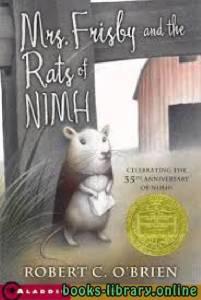 قراءة و تحميل كتاب Mrs. Frisby and the Rats of NIMH PDF