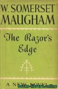 قراءة و تحميل كتاب The Razor's Edge PDF