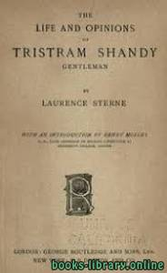 قراءة و تحميل كتاب The Life and Opinions of Tristram Shandy PDF
