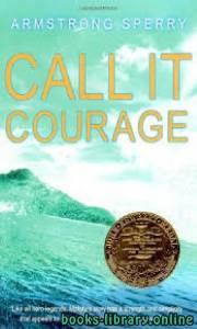 قراءة و تحميل كتاب Call It Courage PDF