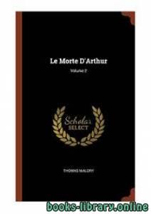 قراءة و تحميل كتاب Le Morte D'Arthur PDF