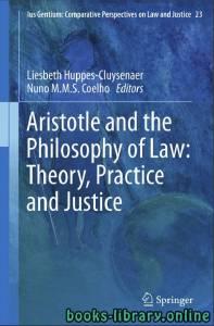 قراءة و تحميل كتاب Aristotle and The Philosophy of Law PDF
