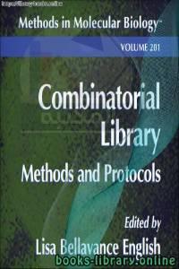 قراءة و تحميل كتاب Combinatorial Library Methods and Protocols-Humana Press PDF