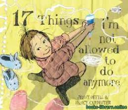 قراءة و تحميل كتاب 17 Things i'm not allowed to do anymore PDF
