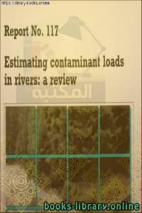 قراءة و تحميل كتاب Estimating Contaminant Loads in Rivers-Centre for Ecology PDF