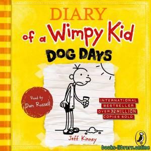 قراءة و تحميل كتاب Diaryof a Wimpy Kid  Dogs Days PDF