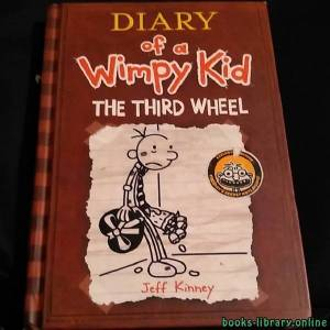 قراءة و تحميل كتاب Diary of a Wimpy Kid  The Third wheel PDF