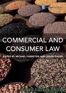 قراءة و تحميل كتاب Commercial and Consumer Law PDF