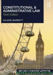 قراءة و تحميل كتاب Constitutional & Administrative Law Tenth edition PDF