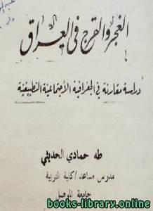 قراءة و تحميل كتاب الغجر والقرج فى العراق PDF