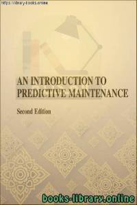 قراءة و تحميل كتاب An Introduction to Predictive Maintenance-Butterworth PDF