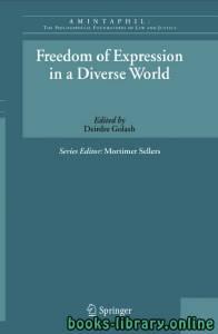 قراءة و تحميل كتاب Freedom of Expression in a Diverse World PDF