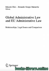 قراءة و تحميل كتاب Global Administrative Law PDF